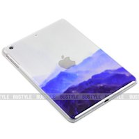 apple computer skins - Ipad Air Protective Case Tablet Computer Protection Shell D Semipermeable Hollow Artistic Conception Mountain Peak Scenery Tablet Case