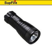 best emergency flashlights - SupFire diving flashlight D5 rechargeable waterproof emergency tactical outdoor hiking fish m use under water best waterproof IP68