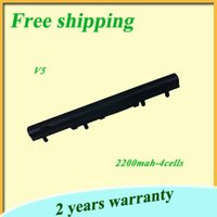acer aspire battery replacement - 100 NEW BLACK cell Laptop Battery For Acer For Aspire V5 V5 V5 V5 V5 V5 AL12A32 Replacement batteries V mah