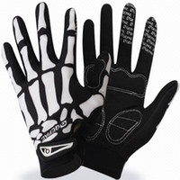 Wholesale Qepae Cycling Gloves Long Finger Motocycle Professional Outdoor Sports Skull Full Half Fingers Glove For Men Women