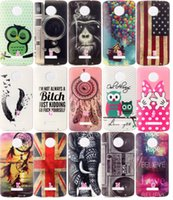 Leather balloons uk - UK USA Flag Cartoon Soft TPU IMD Case For MOTO Z Z Force Dreamcatcher Mickey MinnieSkin Fashion Luxury Mouse Bowknot Balloon Gel Skin Cover