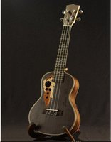 acoustic guitar left handed - Acoustic Rosewood Ukulele wood binding string inch Soprano inch Concert ukulele uke mini guitar guitarra