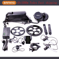 Wholesale 48V W C965 BBS02 fun bafang Mid Crank Drive Motor Ebike Kit V Ah Lithium Ion Bottle Ebike Battery