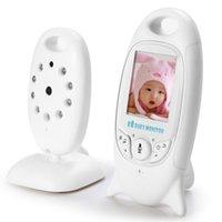 Infant 2.4 GHz Wireles bébé Radio Caméra Babysitter Digital Video Baby Monitor Audio Night Vision Musique Affichage de la température Radio Nanny