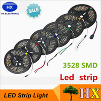 automobile coolers - 5M roll LED SMD Waterproof Flexible LED Strip Light Warm White Cool White Home Automobile Decoration