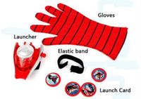 Wholesale Special Link for our customer Spiderman glove LED spiderman mask LED Traction rope star wars LED eyes mask