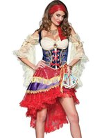 adult gypsy costumes - Newest Elite Women s Sexy Good Fortune Teller Gypsy Costume Esmeralda Adult Costume