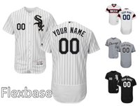 authentic white sox jersey - 2016 New Men s Chicago White Sox Majestic Flexbase Authentic Home Away Collection Custom Personlized Baseball Jersey High Quality Stitched