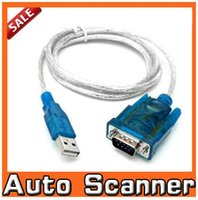 Wholesale usb to rs232 serial adapter cable db9 pin pl2303 female PDA GPS DB PIN CABLE ADAPTER GPS FTA Freeshipping