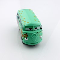 alloy die cast - Children mini cars toys Fillmore volkswagen bus alloy metal die cast race truck car models diecast car toys for children mcqueen friend