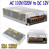 Wholesale 2pcs High Quality LED switching power supply LED power supply V A A W W transformer V