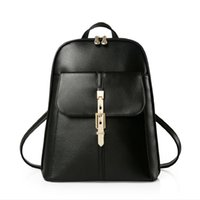 Wholesale Hot Sale New Women Fashion Backpack School Bags Students Backpack Ladies Travel Bags Pu Leather Package