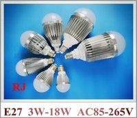 aluminum lathe - aluminum SMD LED bulb LED bubble ball bulb globe bulb W W W W W W W AC85 V E27 lathe profile aluminum