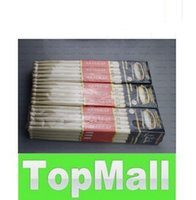 Wholesale Fashion A Pair Music Band Maple Wood Drum Sticks Drumsticks A A Oval shaped wooden LLFA26