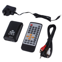 Wholesale 2016 New Full HD p D Multi Media Player TV Video AV HDMI HD Media Box Remote Control Power Adapter AU EU US Plug