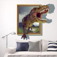 abstract free wallpaper - DHL D Dinosaur Cartoon Wall Stickers Kid Room Home Decoration living room WallPaper Cartoon Removable cm
