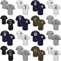 baseball jerseys youth - Youth New York Yankees Mickey Mantle Yogi Berra Roger Maris Phil Rizzuto Cool Base kids Baseball Jersey stitched