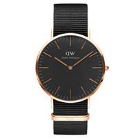 Wholesale New DW Watches Men Top Brand Luxury Mens Nylon Strap Wristwatches Men s Quartz Popular Sports Watches Women Dress Watch Fashion Casual Watch