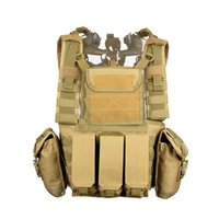 Wholesale Tactical RRV Reconnaissancet Ciras Mar Army Vest Marine Land Triple Magazine Pouch Molle Combat Strike Plate Carrier CL4