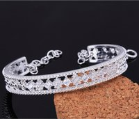 beautiful bracelet designs - Luxury Austrian Crystal Bangle Beautiful Design Small Round Hollow Zircon Bangle Promotions Silver Bangle Bracelet Women Gifts