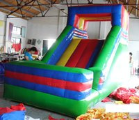 amusement park set - 2016 inflatable sports game PVC inflatable slide outdoor amusement park with high quality