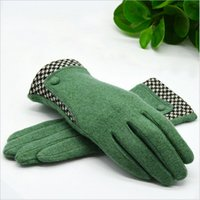 beauty driver - New listing Autumn winter Women elegant wool gloves beauty hands fashion gloves driver cashmere