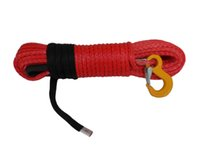 Wholesale Red quot ft Synthetic Winch Rope ATV UTV Winch Line Winch Cable Plasma Rope