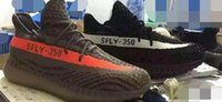 Wholesale Mens Womens SPLY Shoes Boost Season Kanye West Boost Sneakers Trainers Gray and Orange Size