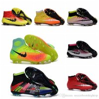 Wholesale Football Boots Magista Obra Orden FG Soccer Boots Mercurial Superfly FG Mens Soccer Cleats Cheap New Soccer Shoes Magistas Superflys
