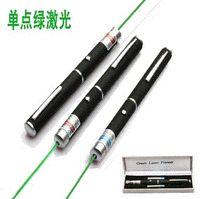 Wholesale 100pcs Green Laser Pointer pen Visible Beam Powerful mW nm Mile Range Laser PE package