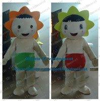 adult sunflower costumes - Tactful Milk White Sunflower Sun Flower Taiyanfa Flower Bloom Posy Mascot Costume Cartoon Character Mascotte Adult NO FS