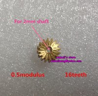 Wholesale 10pcs metal gear modulus teeth copper gear for diameter mm shaft gear box gear