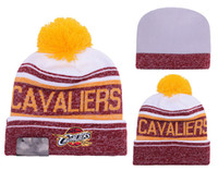 Wholesale New Arrival cleveland Beanies Hats American basketball team Beanies Sports Beanie Knitted Hats drop shippping james Snapbacks Hats