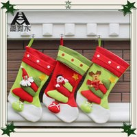 accessories ornament tree - New styles Christmas decorations christmas tree ornaments Hanging Gifts bag stockings cm christmas accessories