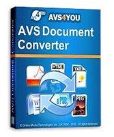 avs converters - AVS Document Converter Full version