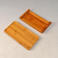 bamboo teapot - Bamboo Tea tray Monolayer Teapot mat all natural Hand Made Crafts home decoration