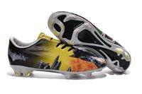 batman spikes - 2016 unique Mercurial Batman Clown football shoes VaporX201 soccer cleats Mercurial fashion soccer boots