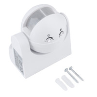 Wholesale New Arrived degree Outdoor Security PIR Infrared Motion Movement Sensor Detector Switch