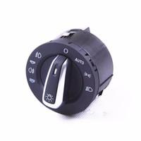 Wholesale OEM Chrome Auto Headlight Fog Light Switch Control Fit Audi A6 S6 C6 Allroad Q7 RS6 FD A