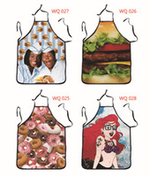 funny novelty aprons - DC Comic Costume Character Novelty Sexy Funny Kitchen BBQ Cooking Apron Party Funny Gifts for Women Men