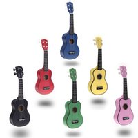 Wholesale Homeland in Compact Ukelele Ukulele Basswood Soprano Acoustic Stringed Instrument Strings Candy Colors for Choose I334