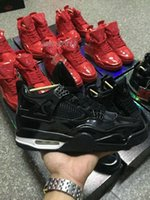 air ball basketball - Mens Retro IV Lab4 Basket Ball lab Basketball Shoes Air Patent Leather Men Shoes Retros IV S Sneakers US