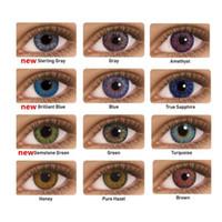 Wholesale High Quality Color Fresh Lenses12 colors tone Colored Contact Lenes Fresh Contact Lens pair Wholesales DHL