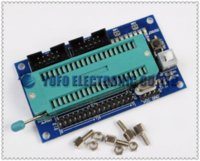 avr chips - AVR Minimum System Development Board ISP JTAG Atmega16 Atmega32 NO Chip Other Electronic Components