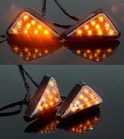 Wholesale High Quality motorcycle pocket bike LED turn light For Honda CBR600 Suzuki GSXR Yamaha YZF