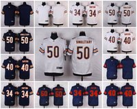 bears jerseys for men - Elite Stitched Chicago Mike Singletary Gale Sayers Walter Payton Bears Rush Player Jersey for Men Custom Any Name Number