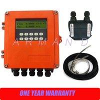 Wholesale Ultrasonic flowmeter digital water flow meter wall mount TDS F DN50mm mm M2 Transducer