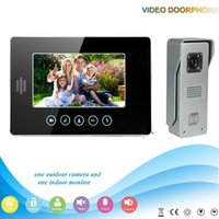 access control manufacturers - V70T M3 V1 Manufacturer Inch Color Screen Video Door Phone Intercom Access Control Doorbell Camera Viewer