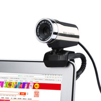 Wholesale New USB Webcam P Web Camera Web Cam Digital Video Webcamera Microphone MIC M USB Cable For Computer PC
