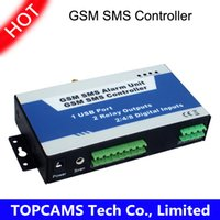 Wholesale Wireless GSM Alarm Home Security SMS Controller S140 Inputs Outputs USB Port two Way Communication